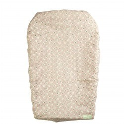 CHANGING MATTRESS COVER TAMARIS POUDRE