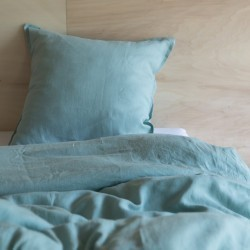 WASHED LINEN DUVET COVER NUAGE