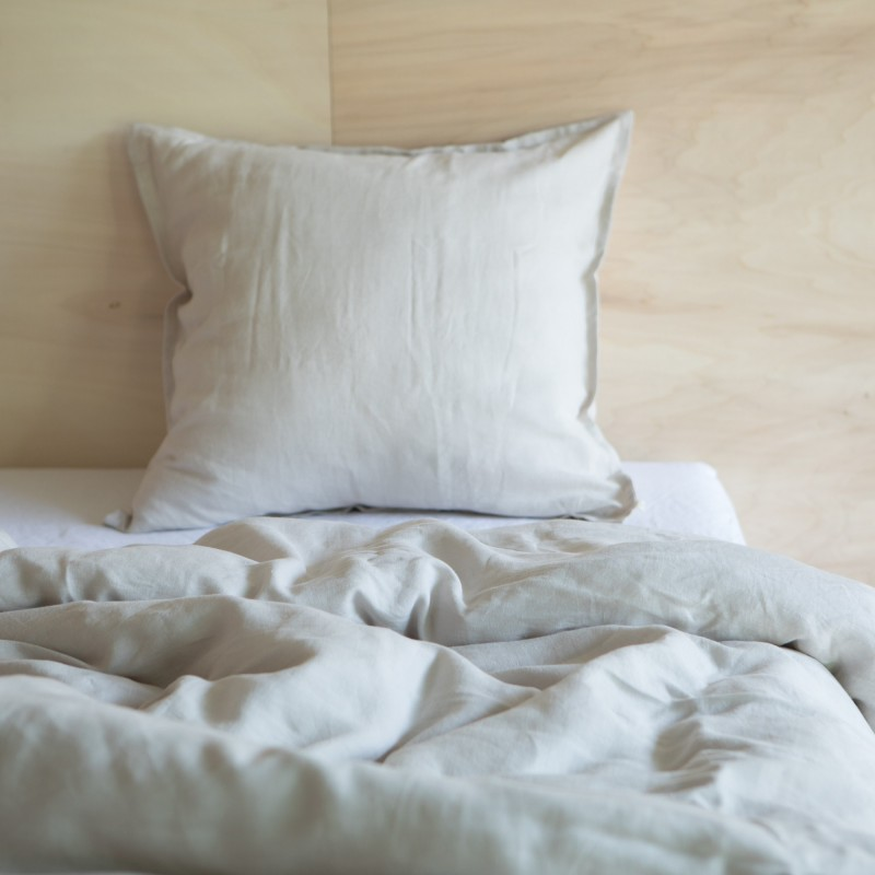 WASHED LINEN DUVET COVER DUNE