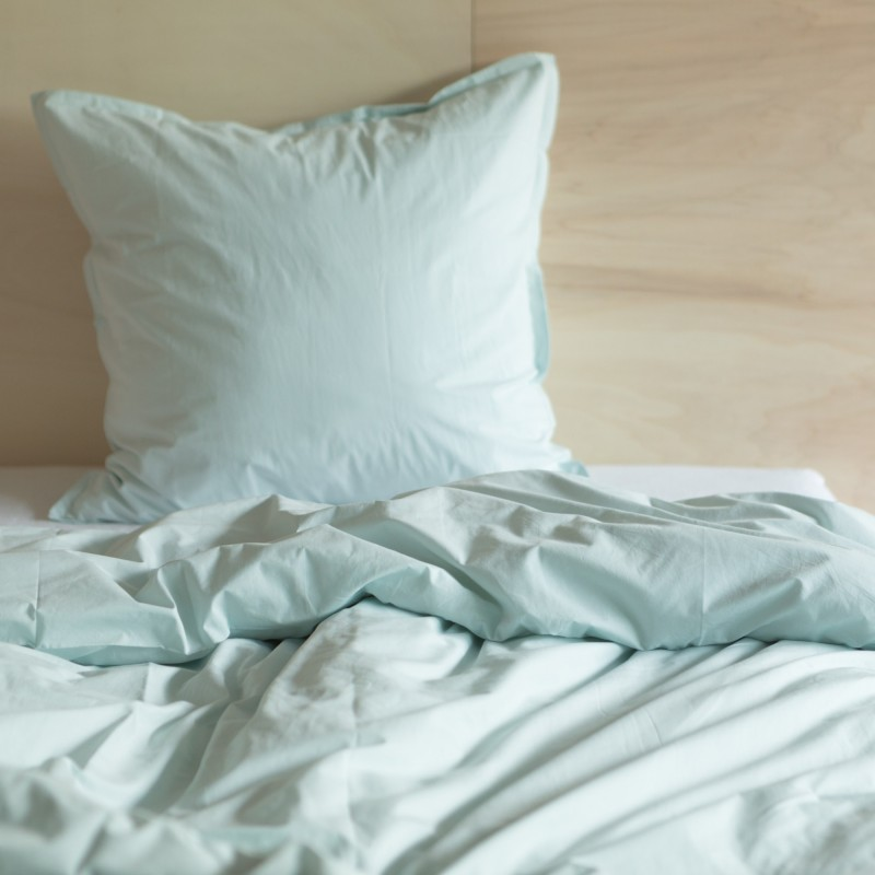 WASHED COTTON DUVET COVER MINT
