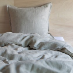 WASHED LINEN DUVET COVER NATUREL