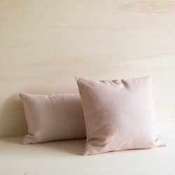 WASHED LINED CUSHION DRAGÉE