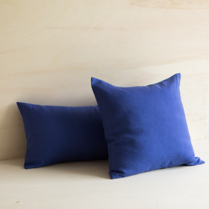 WASHED LINED CUSHION MAJORELLE