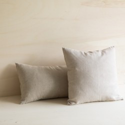 WASHED LINEN CUSHION NATUREL