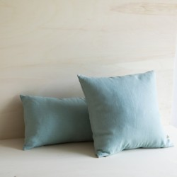 WASHED LINEN CUSHION NUAGE