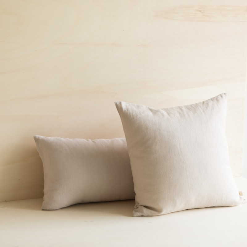 WASHED LINEN CUSHION DUNE