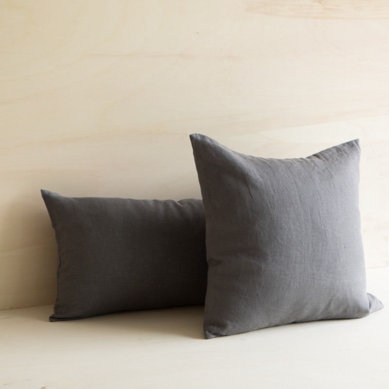 WASHED LINEN CUSHION ORAGE