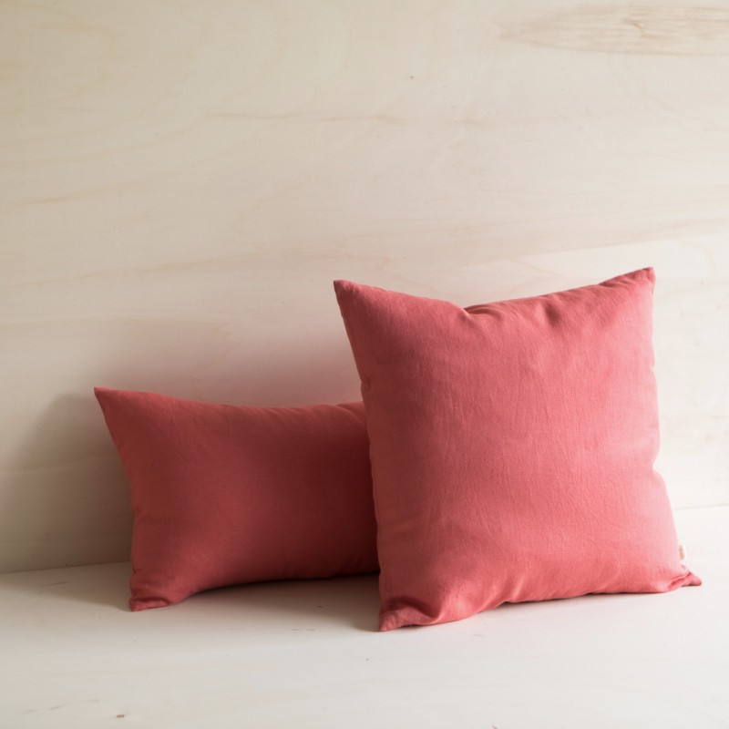WASHED LINEN CUSHION TOSCANE