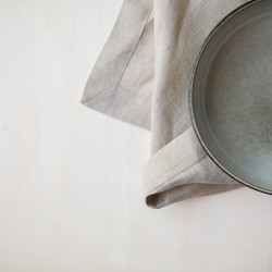 WASHED LINEN NAPKIN NATUREL