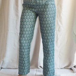 PANTALON PLUME BLUE HEAVEN