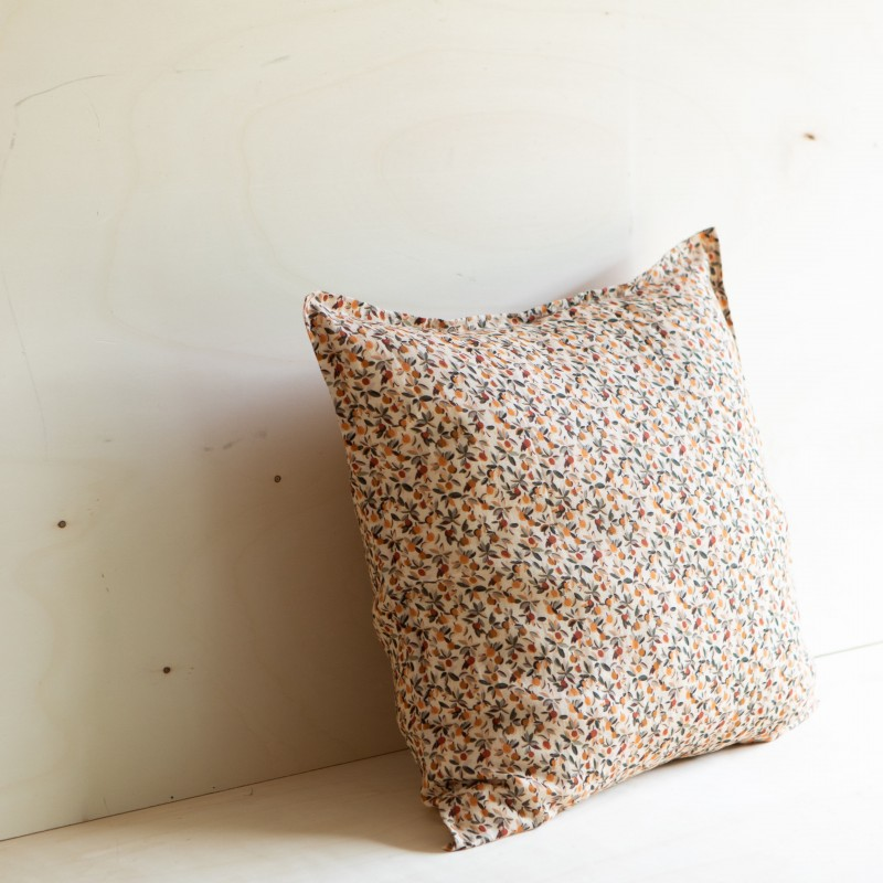 EUROSHAM & PILLOWCASE BLOOM MIEL