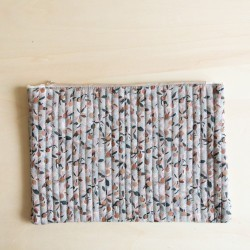 POCHETTE IPAD BLOOM SAUGE