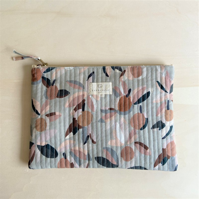 POCHETTE ORDINATEUR BLOOM XL SAUGE