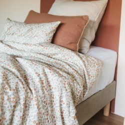 DUVET COVER IRIS SABLE