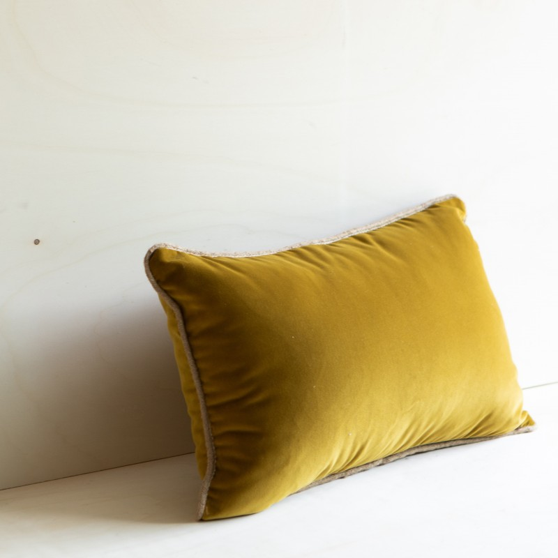 CUSHION ANTIGUA BRUN