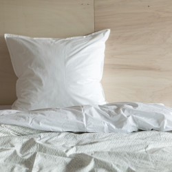 GRAPHIC PRINTED WASHED COTTON DUVET COVER