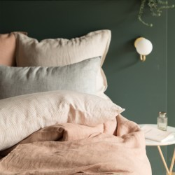 WASHED LINEN DUVET COVER GLAISE