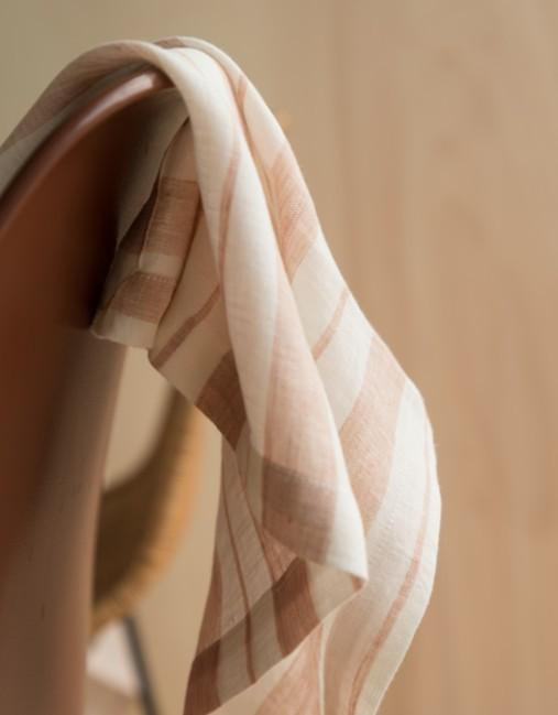 Linge de table: nappe, serviette et torchon